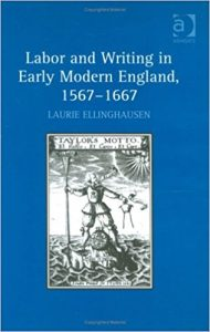 Cover of Labor and Writing in Early Modern England, 1567-1667