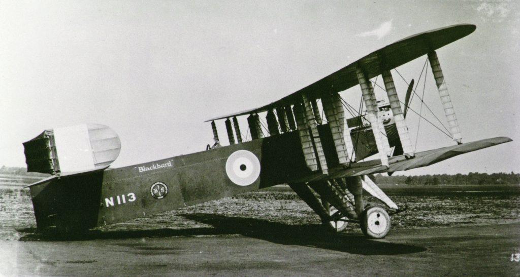 Blackburn Blackburd first prototype