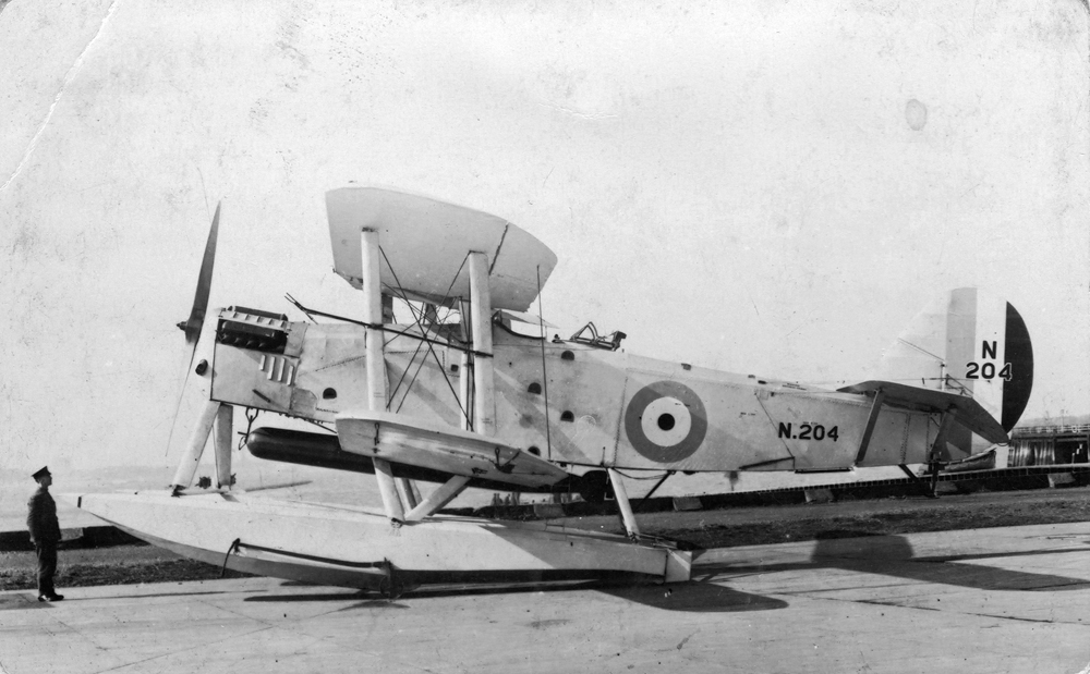 Blackburn Ripon Mk.1 N204 as a floatplane