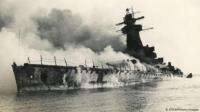 Graf Spee Sinking