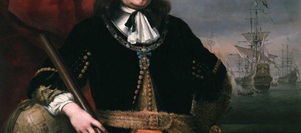 Portrait of Michiel de Ruyter, 1667