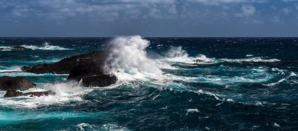 Waves on the Indian Ocean
