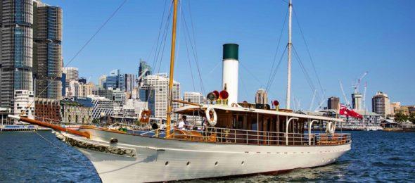 SY Ena, Edwardian steam-powered Australian-built yacht