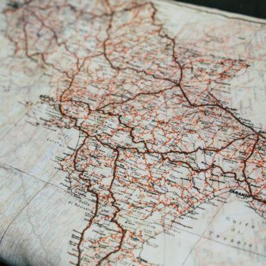 Map - photograph by Tatiana Rodriguez